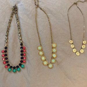 Set of 3 Statement Necklaces